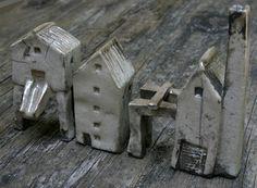 Raku, Small Factory Buildings. Mark Strayer, North Star Pottery.