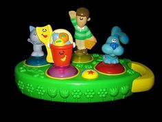 Blues Clues Follow The Leader Steve Game Electronic Toy Memory Shovel Pail
