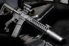 """The Wilson Combat SBR (Short Barreled Rifle) Tactical is our smallest Custom AR rifle. Highly portable, the SBR Tactical comes with the muzzle device of your choice to enable the ultimate comfortable supersonic or subsonic shooting. A perfect mate to our Whisper Suppressor, the SBR tactical takes custom-crafted small Tactical rifles to the next level. Available Calibers: 5.56mm, 6.8 SPC, 300 Blackout, 7.62x40WT Barrel Length: 11.3"""" Overall Length: 28"""" Weight Empty: 6lbs, 5oz."""