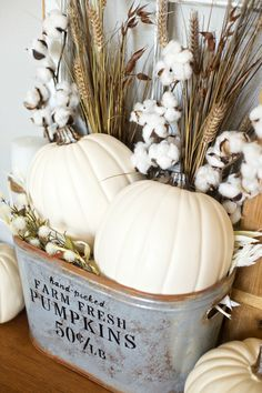 45 Cool Diy Bauernhaus Home Decoration Ideas - Herbstdeko - DIY home decor Diy Home Decor Rustic, Fall Home Decor, Autumn Home, Farmhouse Decor, Farmhouse Style, Farmhouse Ideas, Modern Farmhouse, Country Style, French Country
