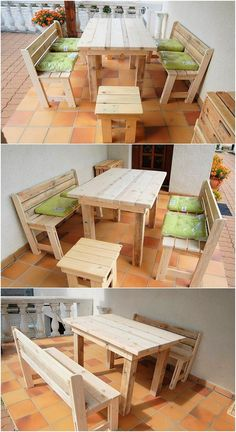 This wood pallet furniture set has been all awesome created to make it awesomely placed on the top of the living room areas. It has been fully implicated out with the variation concepts as where one center table is part of it. Did you find the whole designing artwork interesting?