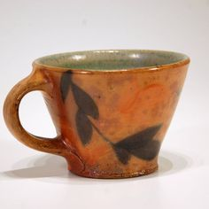 Breakfast Cup mk21 by klinepottery on Etsy, $32.00