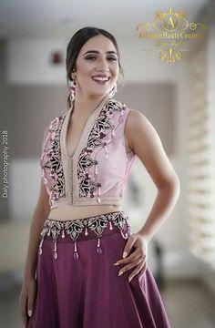 Tunisienne Caftan Dress, Kaftan, Traditional Dresses, Fashion Details, Hijab Fashion, Party Dress, Bride, Elegant, Womens Fashion