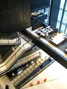 Wiel Arets- Utrecht University Library, 2004 by roryrory, via Flickr