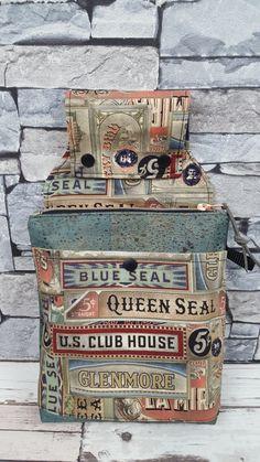 Gürteltasche Wallaby von #ambazamba Decorative Boxes, Blue, Bags Sewing, Decorative Storage Boxes