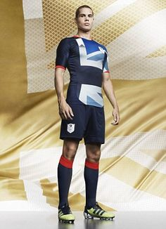 Team GB\'s kit for London 2012, designed by Stella McCartney... I actually like it. (via #spinpicks)