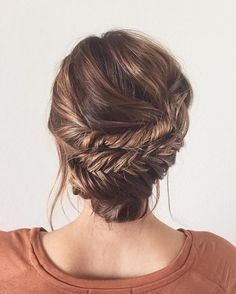 fishtail updo + more