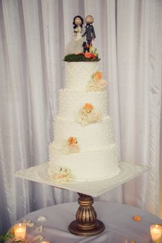 Wedding cake //  // Photography: Betsi Ewing Studio