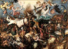 Pieter Bruegel the Elder The Fall of the Rebel Angels, 1562