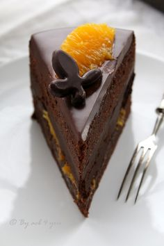 Gâteau gourmand très chocolat et orange Organic Wine, Orange Recipes, Something Sweet, Prosecco, Desert Recipes, Biscuits, Deserts, Food And Drink, Baking