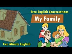 My Family - Family Vocabulary - English Words for Family Members - YouTube