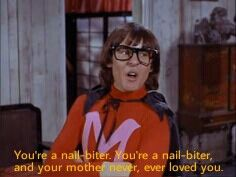 MONKEEMEN! Who needs violence with insults like these?! (Davy Jones on The Monkees Tv series)