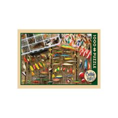 Fishing Lures 1,000-pc. Jigsaw Puzzle, Multicolor
