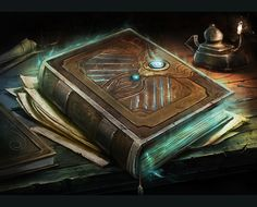 Tome of Elemental Mastery by Reza-Afshar-Art.deviantart.com on @DeviantArt