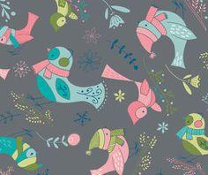 Birds in Iron (Heather Rosas - Winter Wonderland)