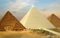 pyramids of giza white Pyramids Of Giza, Day Tours, Cairo, Ancient Egypt, Archaeology, Cool Photos, Past, Building, Instagram Posts