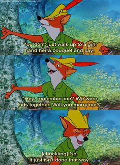 Is it totally weird that I had a super massive crush on the Disney Robin Hood? And when I say had I mean still have? *ehem*