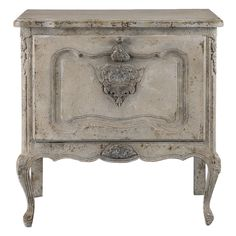 Uttermost 24586 Fausta x Pine Wood Accent Table Aged Ivory Indoor Furniture Storage Accent Cabinet Hooker Furniture, Painted Furniture, Furniture Storage, White Furniture, Repurposed Furniture, Accent Furniture, Grey Distressed Furniture, Decoupage Furniture, Furniture Refinishing