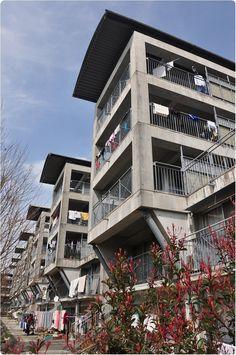 RIKEN YAMAMOTO_Hotakubo Housing 熊本県営保田窪第一団地 1991
