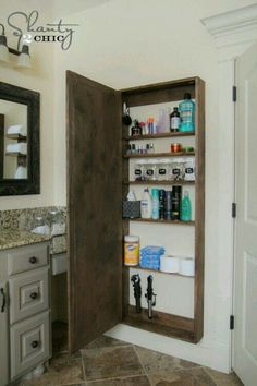 I Want Diy Life Size Medicine Cabinet Storage Area That S