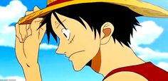 my feels♥♥♥♥ luffy and nami gif