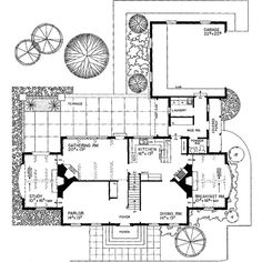 Plan W81036W ❤ liked on Polyvore featuring fillers, backgrounds, text, house plans and floor plans