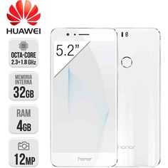 Huawei Honor 8 LTE Dual Sim Blanco | Móvil | InterTienda