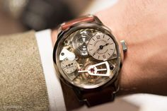The firstNaissance d'une Montre Concept By Greubel Forsey, Philippe Dufour, And Michel Boulanger.