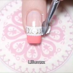 Are you looking for round acrylic nails art designs that are excellent for your new nails designs this year? See our collection full of round acrylic Nail Art Hacks, Nail Art Diy, Diy Nails, Nail Stamping Designs, Stamping Nail Art, Nail Art Designs Videos, Nail Art Videos, Nail Art Stencils, Pretty Nail Art