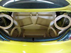 HOW TO: Fiberglass Fabrication - Zilvia.net Forums | Nissan 240SX (Silvia) and Z (Fairlady) Car Forum Custom Speaker Boxes, Speaker Box Design, Custom Car Interior, Truck Interior, Custom Car Audio, Custom Cars, Diy Boombox, Car Audio Installation, Subwoofer Box Design