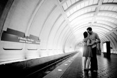 DC Metro Engagement Session 550x366 Wedding Inspiration: Washington DC Metro