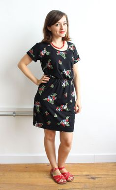 Tips for making a jersey Bettine dress - sewing pattern from Tilly and the Buttons