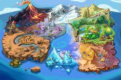 unfinished world map by ~zhetenghui