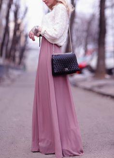 Love maxi skirts!