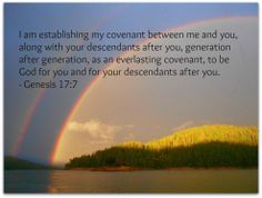Everlasting Covenant....thank you Father.