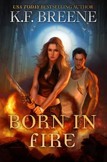 Good Choice Reading: Review: Born in Fire (Fire and Ice Trilogy #1) By K.F. Breene