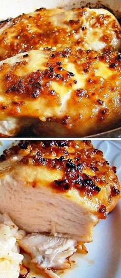 Garlic and Brown Sugar Baked Chicken. In the oven right now! Thank you Pinterest!