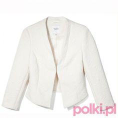Biały żakiet, Reserved