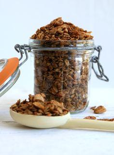 Vanille amandel granola recept