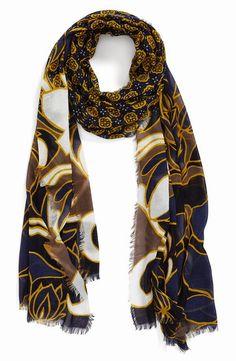 e9b04551f8b7 Halogen®  Floral Foulard  Scarf   Nordstrom Fall Must Haves, Designer  Handbags,
