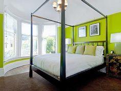 20 ideas para pintar y decorar un dormitorio con colores fríos.