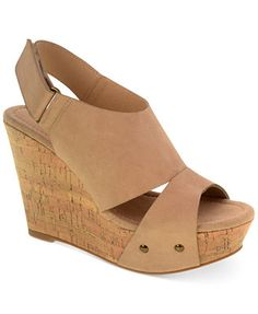 CL by Laundry Camden Platform Wedge Sandals