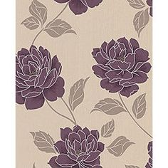 1000 images about house stuff on pinterest feature for Purple feature wallpaper living room