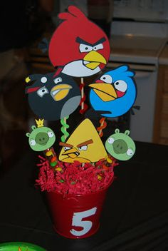Crafty Teacher Mom: Angry Birds Birthday Party!
