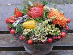 herfststuk drieflora