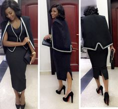 5 CELEBRITIES WHO ROCKED THE CAPE TREND                              1.GENEVIEVE NNAJI  2. OMOTOLA JALADE  3.WAJE  4. WALE  5.JACKIE APPIAH  cape trend celebrities Fashion styles Fashion trends may 2016.