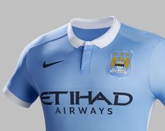 Manchester City club kit Crest