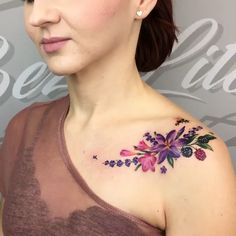 Floral Tattoo for Women | Parisian Princess.