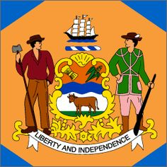 delaware state flag - Google Search