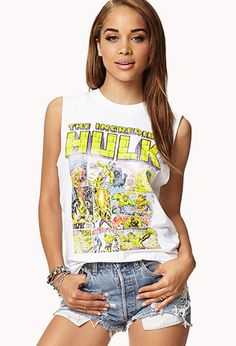 The Incredible Hulk™ Muscle Tee | FOREVER21 - 2077118776